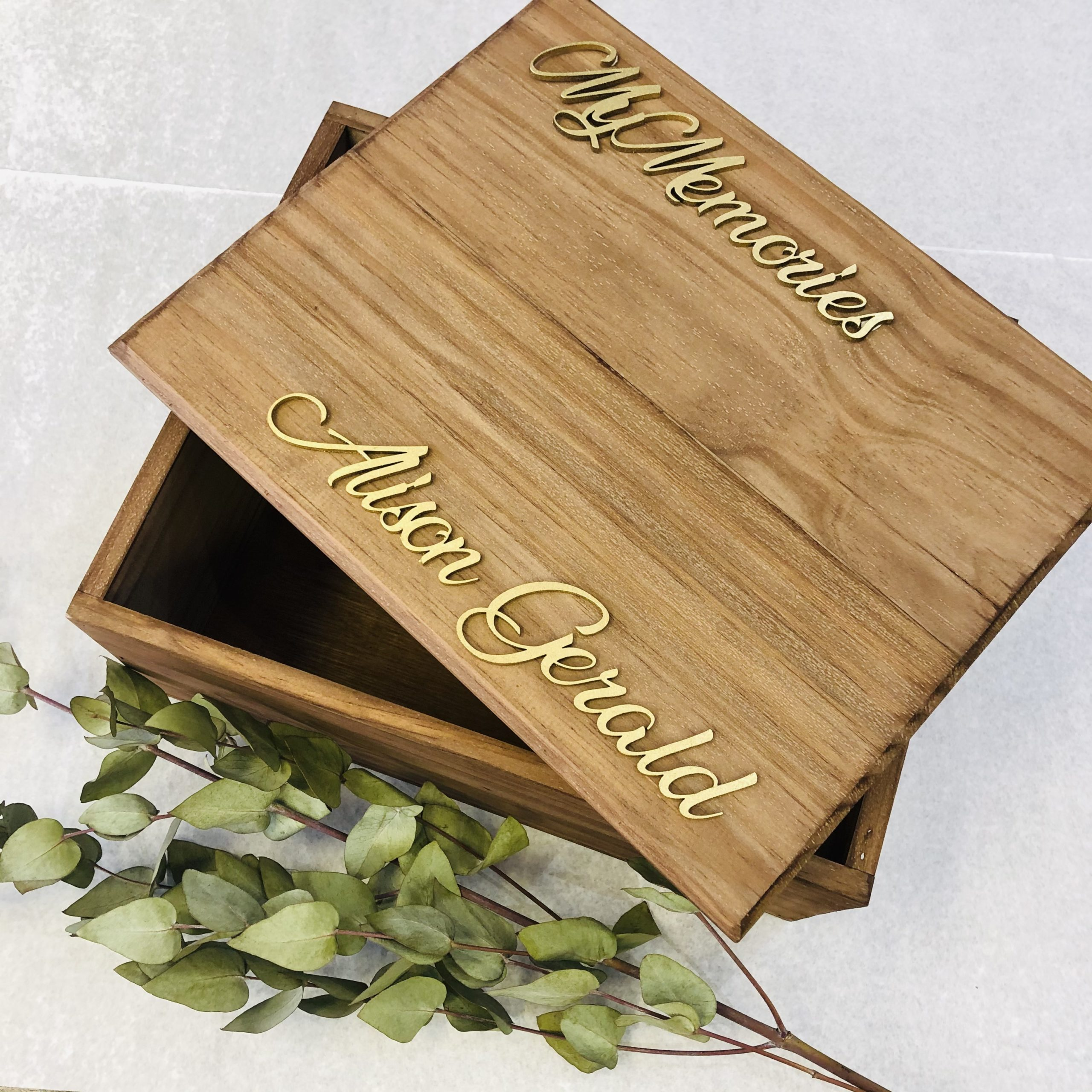 Personalised Handcrafted Box
