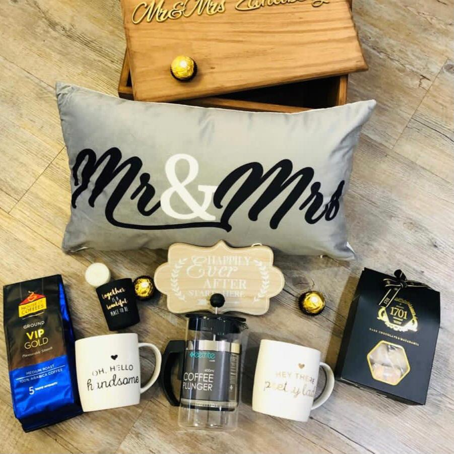 Mr & Mrs Personalised Box