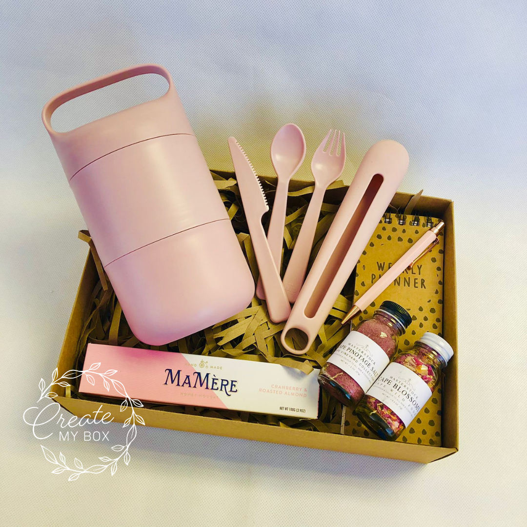 Eco Lunch On-The-Go Blush Pink