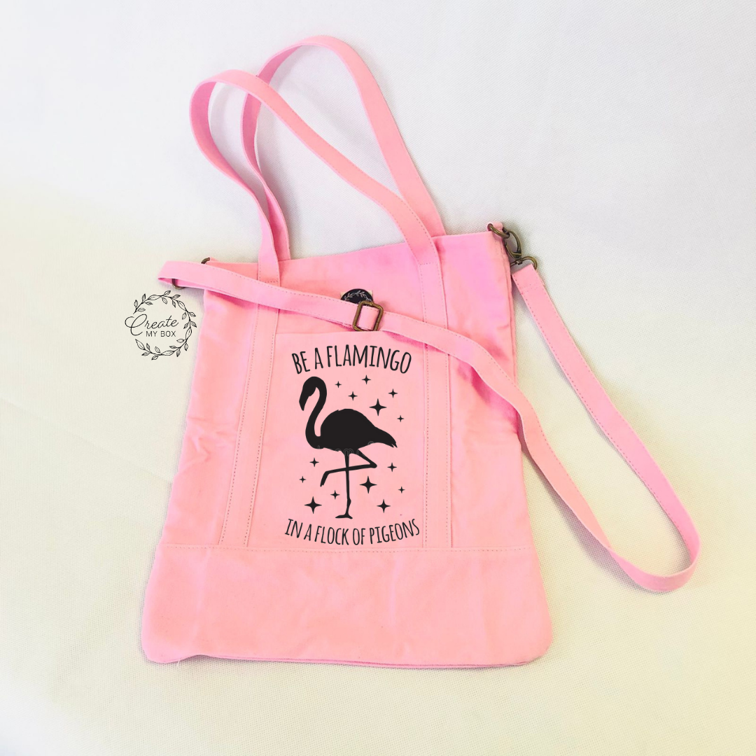 Pink Cotton On Flamingo Bag (5)