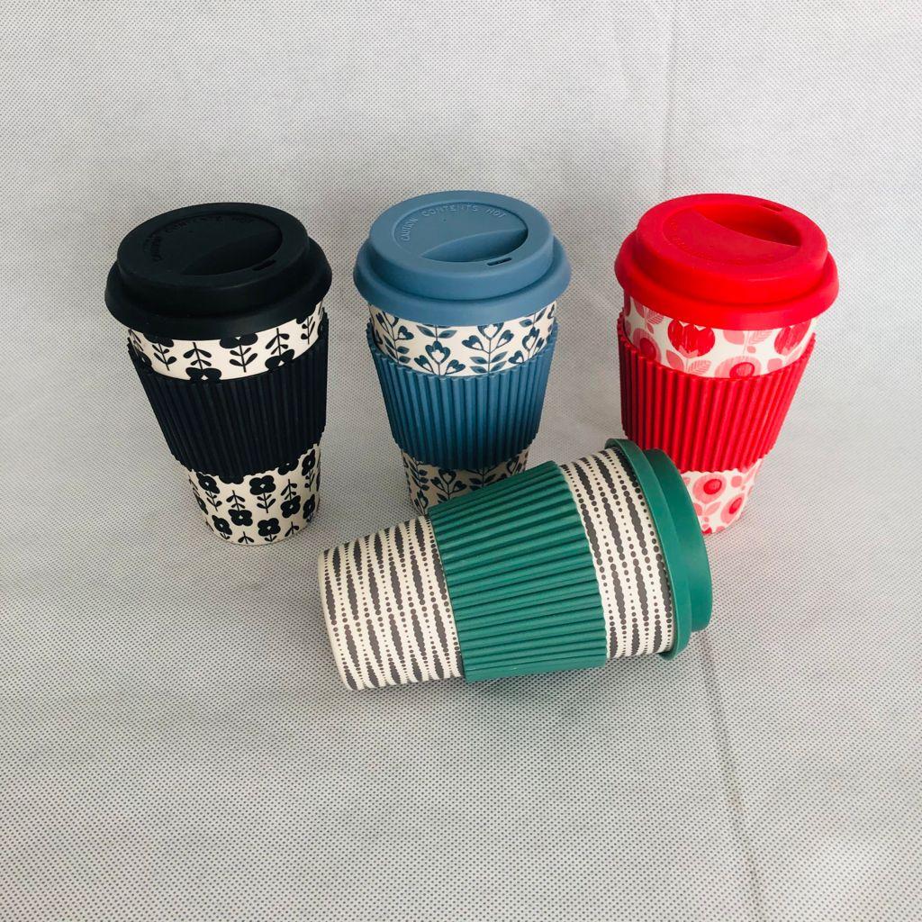 Assorted Colour Travel Mugs