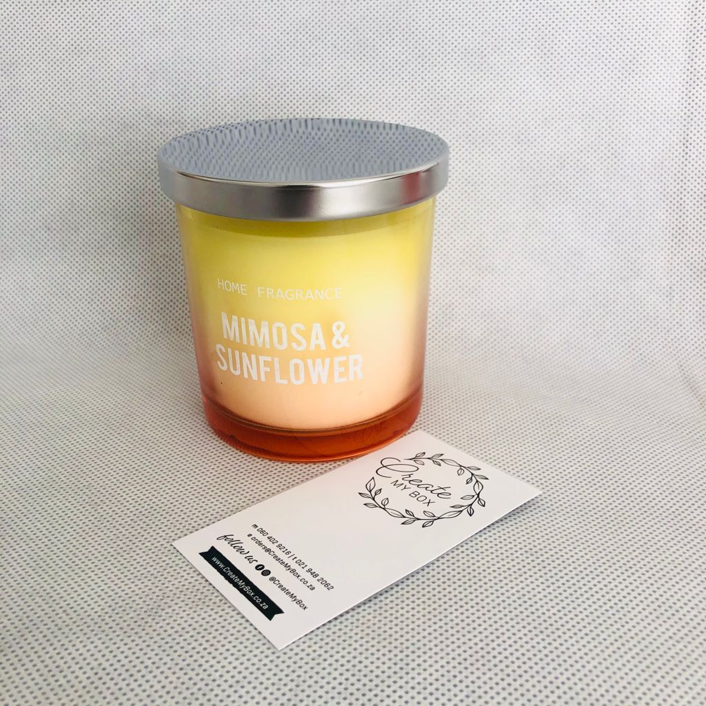 Candle – Mimosa & Sunflower